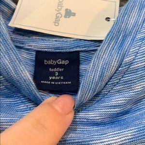 GAP Shirts & Tops - Baby gap boys blue v neck shirt NWT new 3t